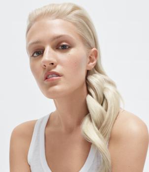 Hair Model Blonde Hair